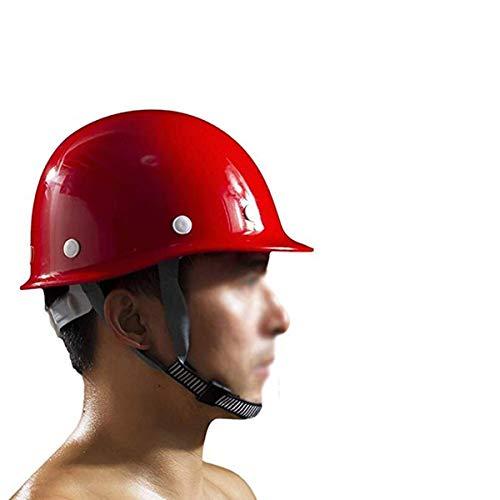 Qinsir Casco Seguridad Sombrero Duro,Unisex Casco De Construcción,Casco De Trabajo De Seguridad Alta Visibilidad Diseño Gorra De Béisbol Potencias,Arquitecto,Escalera,Ingenieros,Rojo 🔥