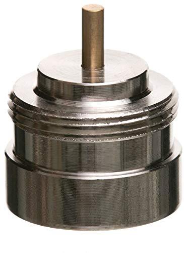 Eurotronic 700114 Vama Metalladapter für elektronische Heizkörperthermostate, Metall