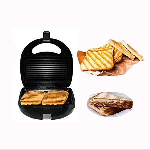 YLLM Haushaltskinder Waffeleisen Hausgemachtes Brot Muffin Sandwich Antihaftbeschichtung Doppelseitige Heizung Nicht hängendes Backblech