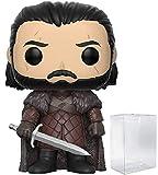 Game of Thrones: Jon Snow Funko Pop! - Figura decorativa de vinilo (incluye funda protectora compati...