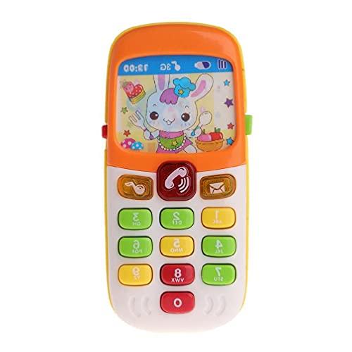 Baby Spielzeug Handy Kid Elektronische Musik Cartoon Smartphone pädagogisches Geschenk Spielmatte