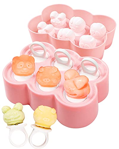 (60% OFF) Silicone Popsicle Molds 6-Cavity – 2 Pack  $4.76 – Coupon Code