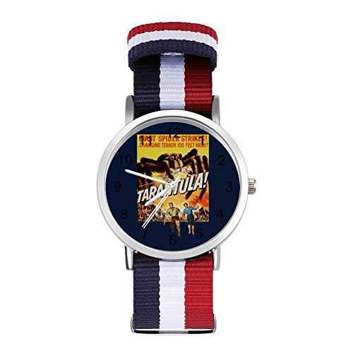 Tarantula 1955 - Reloj de pulsera trenzado con escala