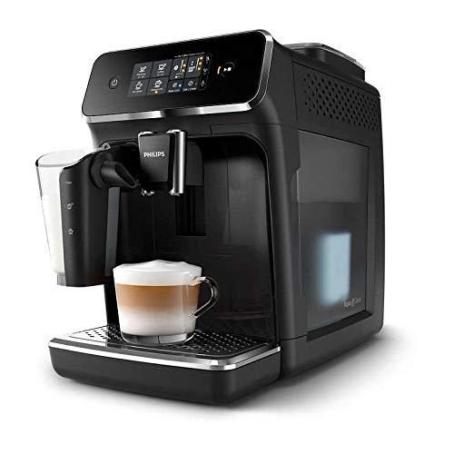 Philips EP2231 Espressokocher, 1500 W, Wasserspeicher, 1,8 l, 15 bar, 12 Einstellungen, 3 Positionen, Temperatur für Milch, 0,26 l