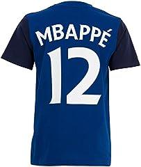 Camiseta Oficial Selección Francesa de Fútbol FFF para Niño - Kylian Mbappé