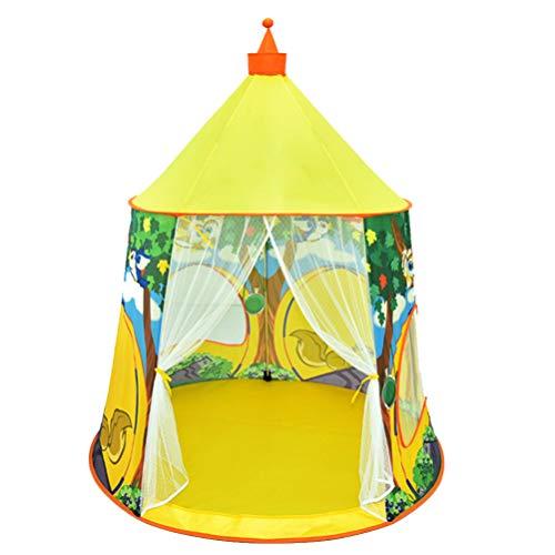 TOYANDONA Kinderen Prinses Spelen Kasteel Tent Opvouwbare Kinderen Speelhuisje Camping Tent Voor Jongens Meisjes Indoor Game Activiteit Rekwisieten Kinderkamer Decoratie