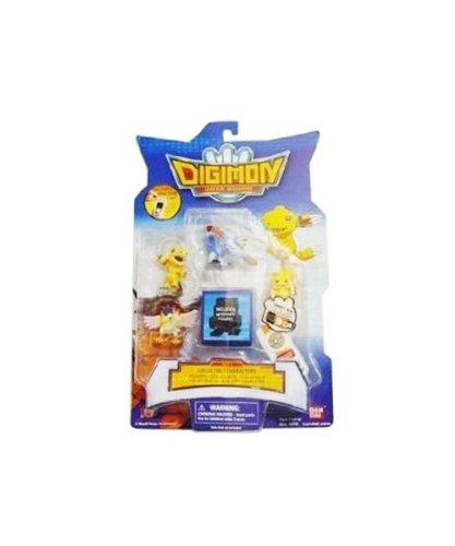 Bandai Digimon Digital Monsters- 1.5' Collectible Figures- AGU/Dot-AGU/Data-GeoGray/GaoGa/Kokatori