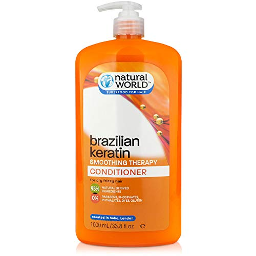 Natural World Brazilian Keratin Smoothing Therapy Conditionneur