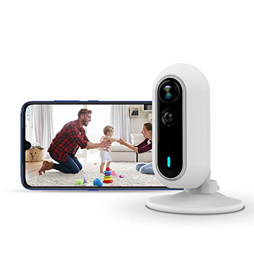 VesperSecurity Indoor Security Camera - 1080P Smart Indoor Camera, Wide Angle Lens, Night Vision & AI Motion Detection, 2-Way Audio, App for iOS and Android, Baby/Pet Monitor