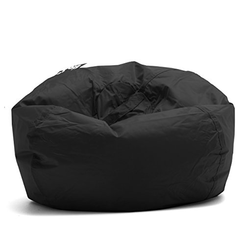 Big Joe 98-Inch Bean Bag, Limo Black -