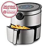 Dash DFAF600GBSS01 AirCrisp Pro Electric Air Fryer + Oven Cooker with Digital Display + 8 Presets,...