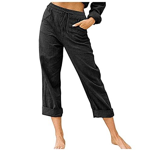 SKAW Mono Taller Mujer Popular Pantalones Mono Ajustado Mujer Lavar a máquina Esterilla de Yoga Pilates Cremallera Mono Floral Mujer Leggings Negro XXL