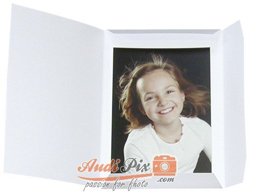 Daiber Fotokaart Sprint-Line Portret 20x30 Wit 1x25 [09034]