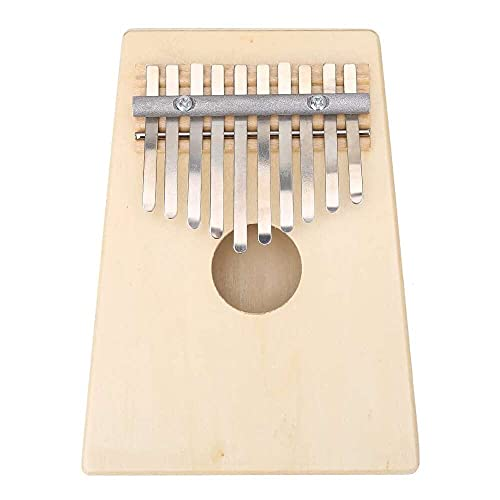 Yuyanshop Útil Piano de pulgar tradicional resistente de 10 teclas para el rendimiento
