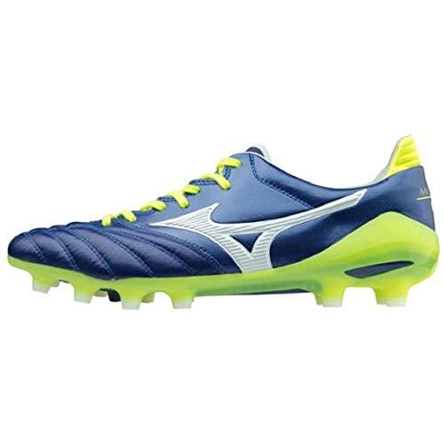 Mizuno Morelia Neo, Fußball-Schuhe, Hergestellt in Japan - P1GA175102, - blau - Größe: 45 EU