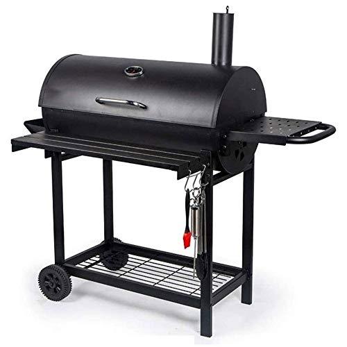 41cEUtuE5kL - American Barbecue Haupthofdekorationen Bed and Breakfast Terrasse Grill Holzkohle Grill Stew Large Size mehr als 5 Personen Garten BBQ