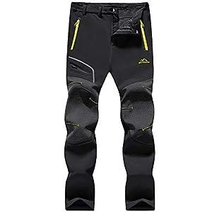Magcomsen Womens Winter Pants Warm Fleece Lined Water Resistant Hiking Snow Skiing Pants