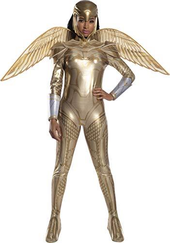 Rubies 701009 DC Comics 84 - Disfraz de mujer maravilla blindada de oro para adultos,...