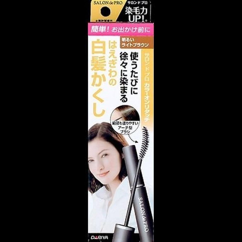 商標愛情怠惰【まとめ買い】サロンドプロ カラーオンリタッチ 白髪かくしEX 明るいライトブラウン 15ml ×2セット