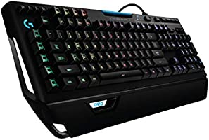 Logitech G910 Orion Spectrum Illuminated Mechanical Gaming Keyboard, RGB Backlit Keys, Romer-G Tactile Key Switches, 9...