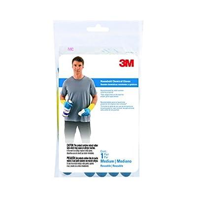3M 90018 Household Cleaning Gloves, Medium