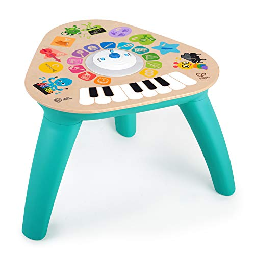 Baby Einstein Clever Composer Tune Table Magic Touch Electronic Wooden Activity Toddler Toy, Ages 12 Months +