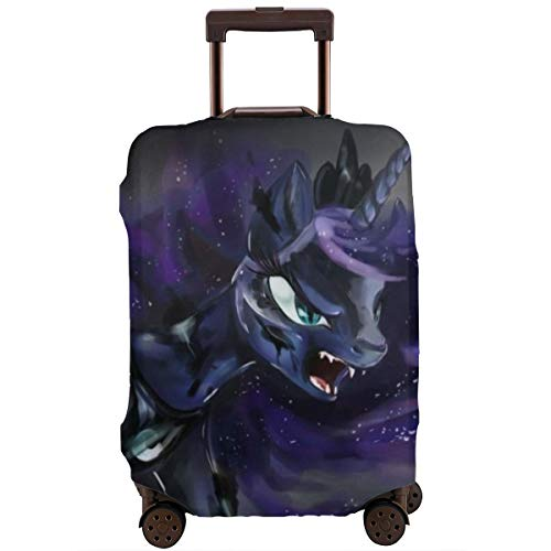 My Little Pony Luggage Covers Travel Suitcase Durable High Elastic Washable Anti-Scratch Suitcase Protector Polyester Fits 26-28 Inch