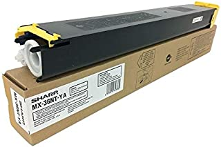 SHARP OEM TONER FOR MX-2610N - 1 STANDARD YIELD YELLOW TONER (MX36NTYA) -