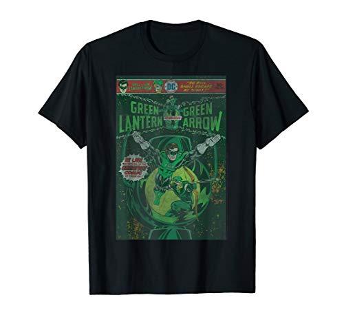 DC Comics Green Lantern And Green Arrow Comic Cover T-Shirt