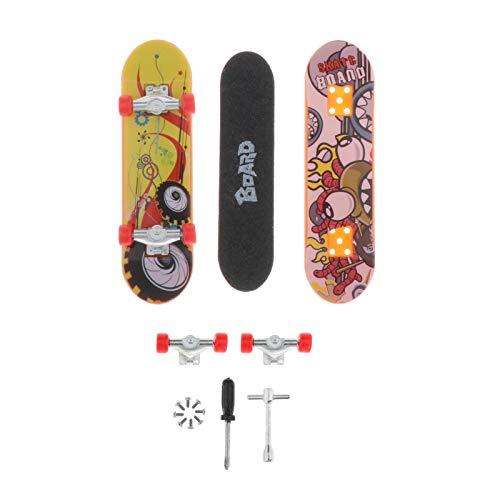 sharprepublic Mini diapasón Profesional, Montaje de plástico ABS/desmontaje de monopatín Scooter Fans Juguete niños Regalo de cumpleaños - Modelo 1