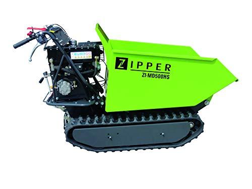 ZIPPER ZI-MD500HS Raupendumper Motorschubkarre Mini Dumper ***NEU***