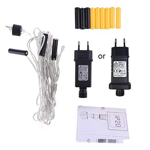 Batterie Adapter AA AAA-Batterie Eliminator Netzteil Adapter 3 in 1 Ersetzen Zubehör Für Lichterkette, LED Lichter, Batterieersatz Kombination 4.5V Konverter