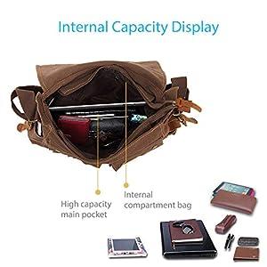 41cEbX4eqZL. SS300  - FANDARE Nuevo Bolsa Mensajero Messenger Bag Crossbody Bolso Bandolera Shoulder Bag 14 Pulgadas Portátil Estudiante Viaje…
