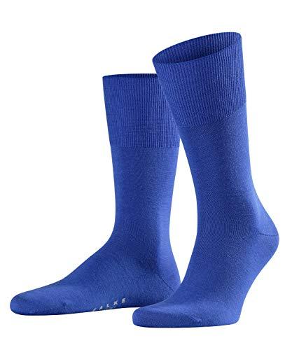 FALKE Airport Herren Socken imperial (6065) 47-48 klimaregulierend durch Schurwolle