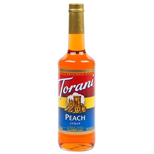 Torani Peach Syrup (1 Single 750 ml bottle)