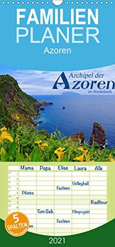 Archipel der Azoren im Nordatlantik - Familienplaner hoch (Wandkalender 2021, 21 cm x 45 cm, hoch)