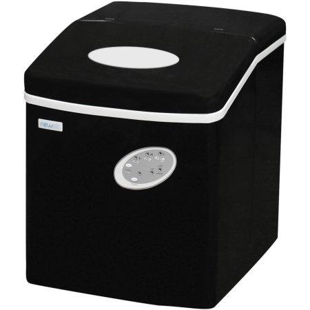 Convenient Portable AI-100BK Ice Maker, Black