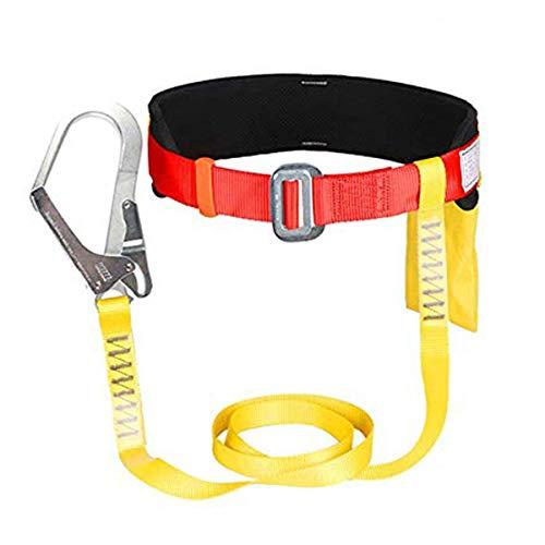 YXB Arnés de Seguridad de una Sola Cintura Protección contra caídas al Aire Libre...