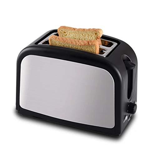 2 rebanadas extra anchas de la tragamonedas de la ranura, la pequeña máquina de desayuno automática, la bandeja de miga extraíble /de descongelamiento /Auto Pop-Up /7 Toasting Pan Shade Configuración