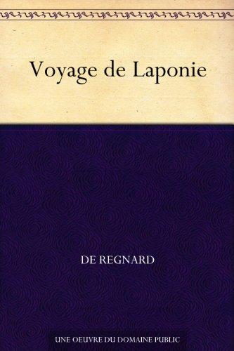 Couverture du livre Voyage de Laponie