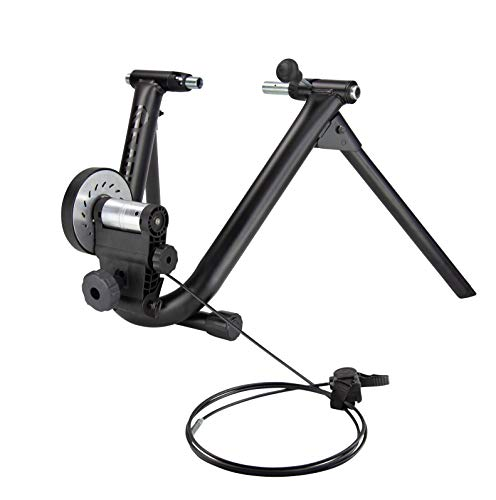 Saris Magnetic Plus Indoor Bike Trainer Magnetic Resistance Compatible with Zwift App