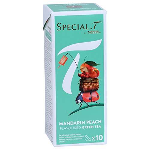 Original Special T - Mandarin Peach - 10 Kapseln (1 Packung) für Nestlé Tee Maschinen