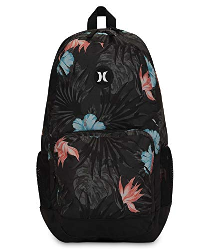 Hurley U Renegade II Printed Backpack Mochila, Hombre, Anthracite, 1SIZE