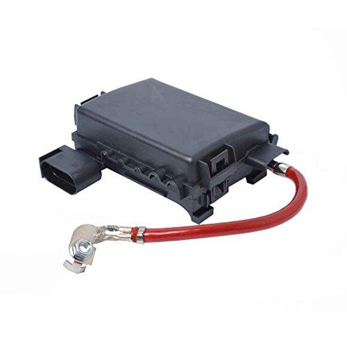 republe J0937550A Autobatteriesicherungskasten-Halter Batteriesicherungskasten, Auto-Terminal Terminal 5-Wege-Batterie Sicherungskasten für 99-04 Bora Jetta Golf 4