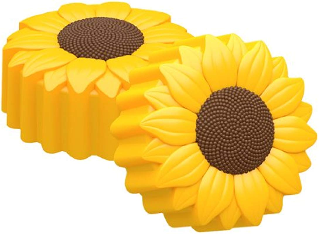SpinningLeaf Sunflower Oreo Cookie Chocolate Candy Mold