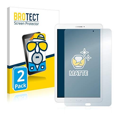 BROTECT 2X Entspiegelungs-Schutzfolie kompatibel mit Samsung Galaxy Tab E 9.6 Bildschirmschutz-Folie Matt, Anti-Reflex, Anti-Fingerprint