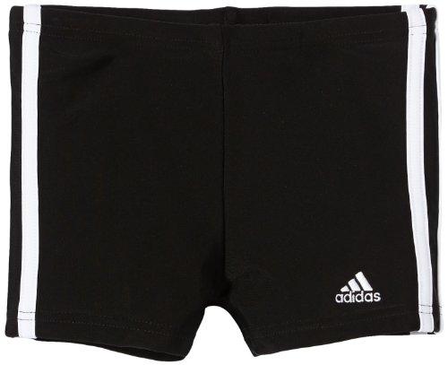 adidas Jungen Badehose 3-Stripes Boxershorts, Blckdd/Wht, 152, Z33816