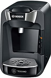 Tassimo Bosch Suny TAS3202GB Coffee Machine, 1300 W, 0.8 Litre - Black