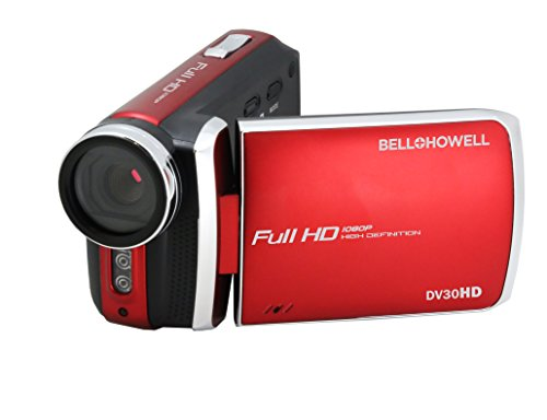 bell howell cheap camcorders Bell+Howell DV30HD-R HD Video Camera with 3