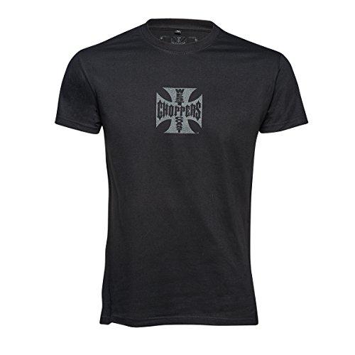 WEST COAST CHOPPERS Camiseta para hombre OG Classic, negro (Solid Black), XL